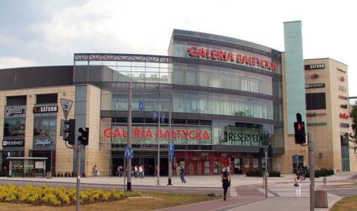 galeria bałtycka zdjęcie przedstawiające budynek galerii bałtyckiej