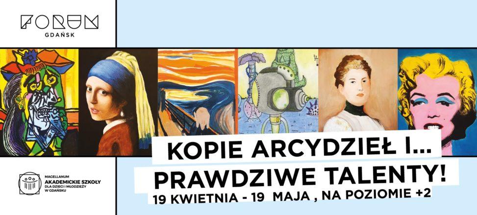 Forum Gdańsk - aktualności. Wystawa obrazów młodych talentów.